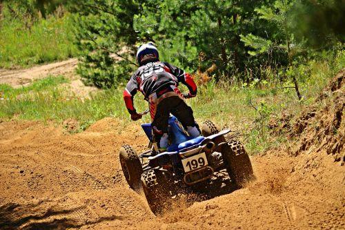 quad motocross atv