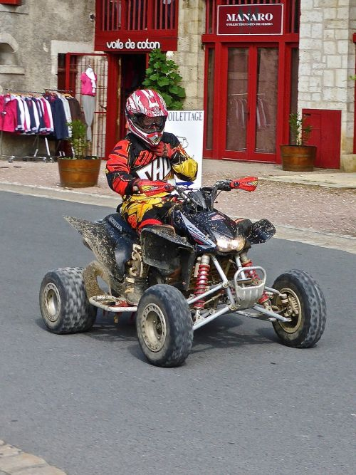 quad bike motorbike quad