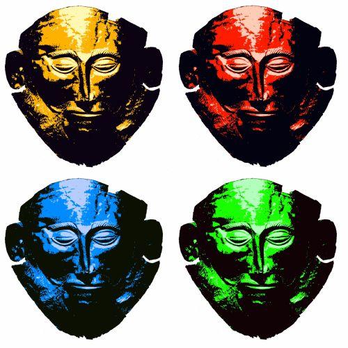 Quad Color Mask