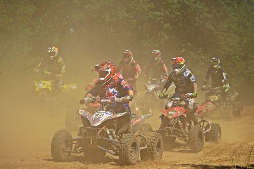 quad race quad motocross