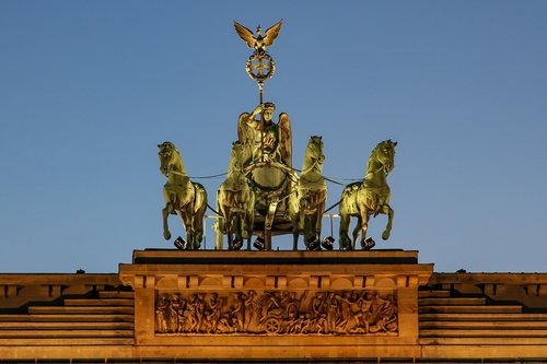 quadriga  berlin  landmark