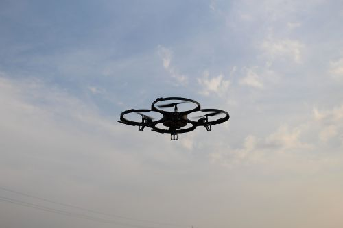 quadrocopter aircraft remotely controlled