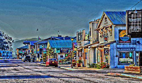 Quaint Seaside Village