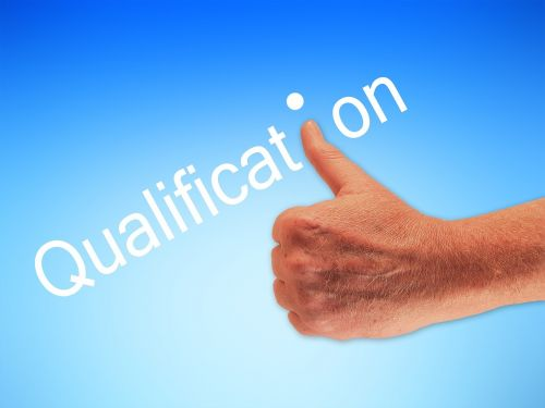 qualification hand thumb