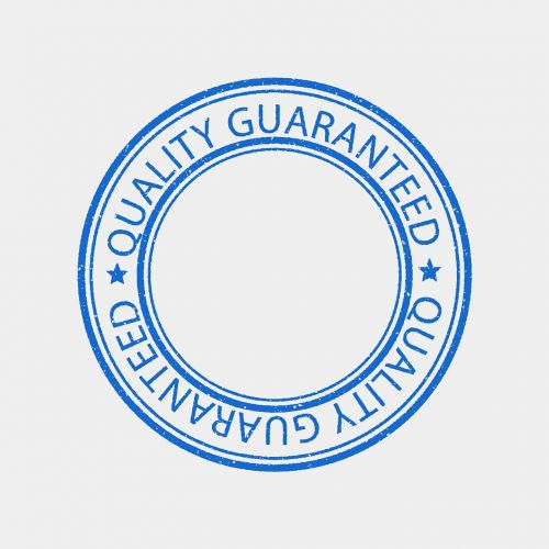 quality stamp guarantee