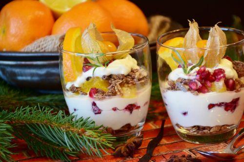 quark quark cream dessert