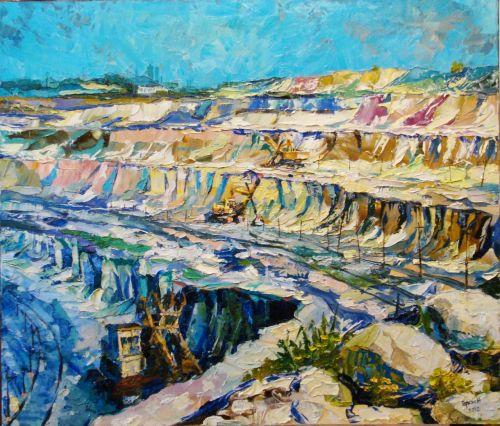 quarry canvas oil