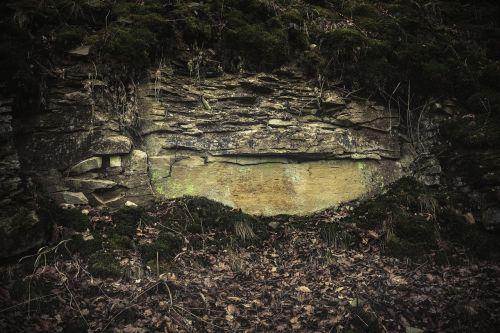 quarry stone rock