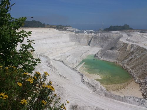 quarry stone pit stone quarry