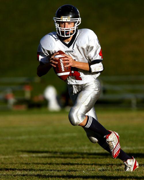 quarterback american football football player