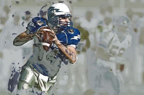 quarterback american football sport