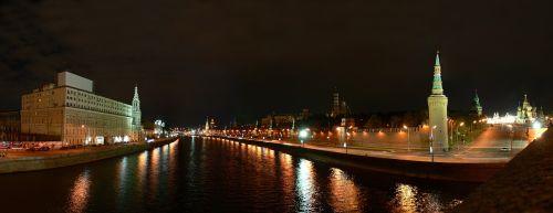 quay moscow the kremlin