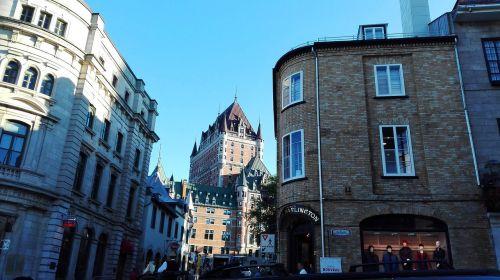 québec frontenac castle