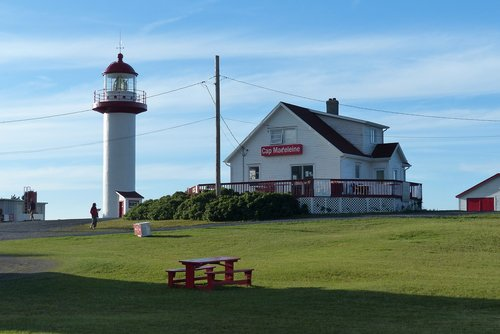 quebec  gaspesie  lighthouse