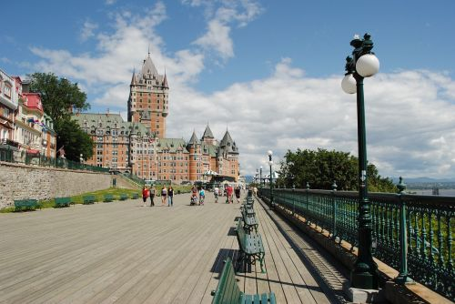 quebec chateau castle