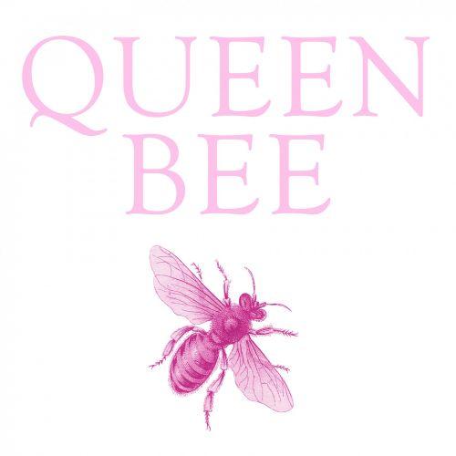 karalienė & nbsp, bitė, bičių, tekstas, vabzdys, rožinis, linksma, naujovė, Scrapbooking, Laisvas, viešasis & nbsp, domenas, Bitė motinėlė