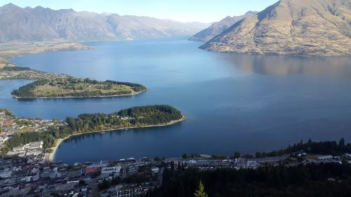 queenstown nz lake