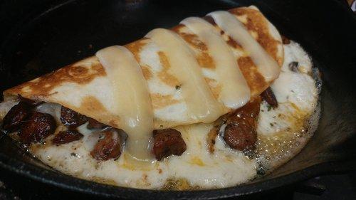 quesadilla  cheese  tortilla
