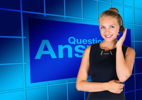 question answers call center