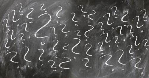 question question mark board