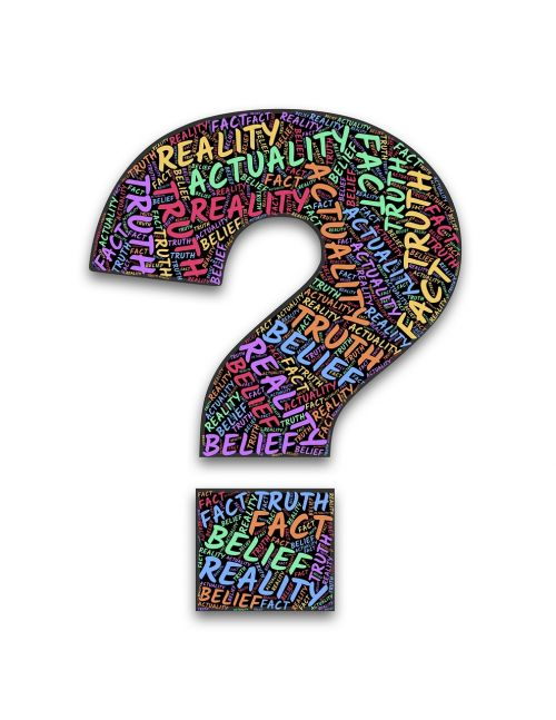 question reality truth