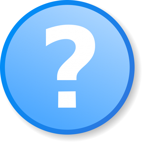 question mark circle
