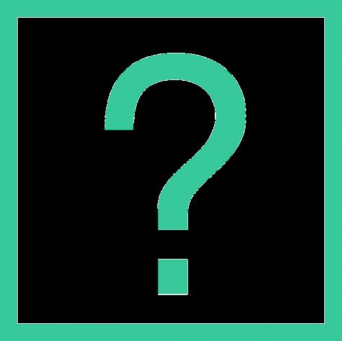 question mark square