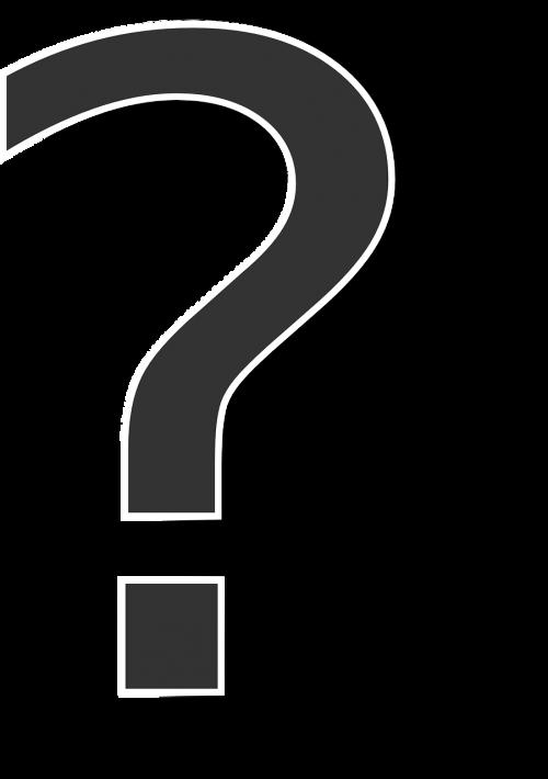 question mark punctuation