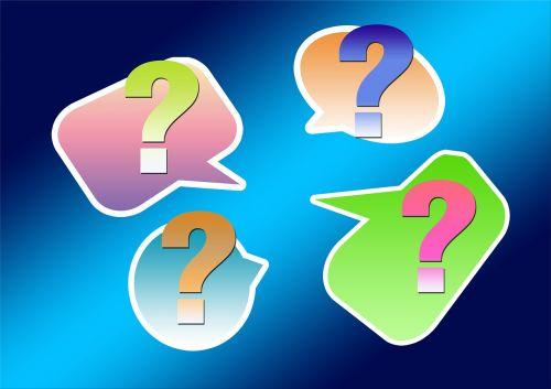 question question mark balloon