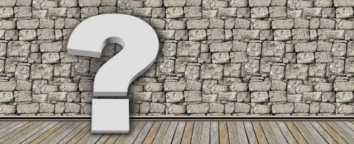 question mark problem question