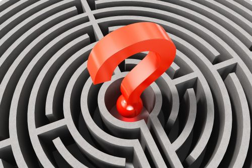 question mark labyrinth lost