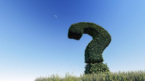 question mark knowledge question