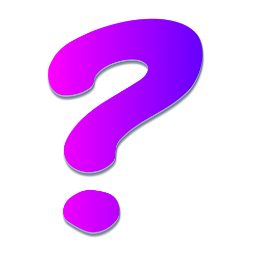 question mark question help