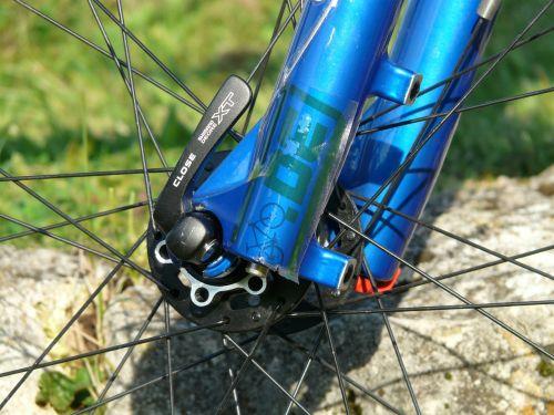 quick release wheel bike