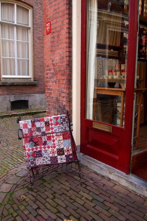 quilt patchwork display