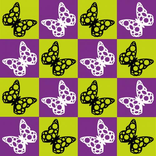 antklodė,violetinė,žalias,juoda,balta,drugeliai,antklodė