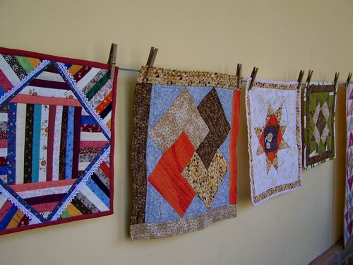 quilting  manual work  exhibition