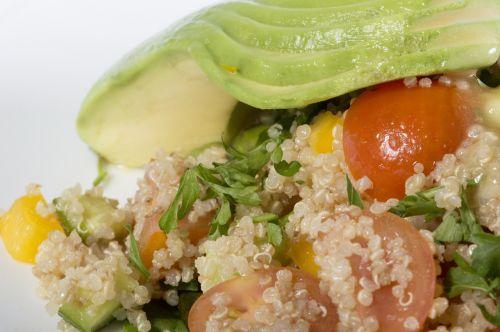 quinoa salad avocado