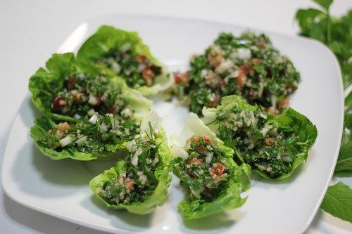 quinoa  salad  vegetarian