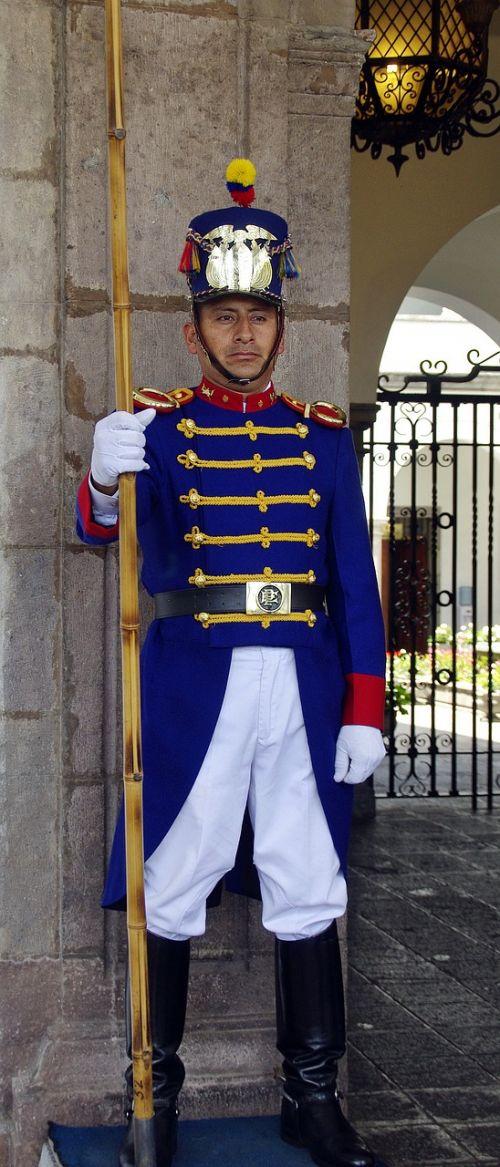 quito guard presidential