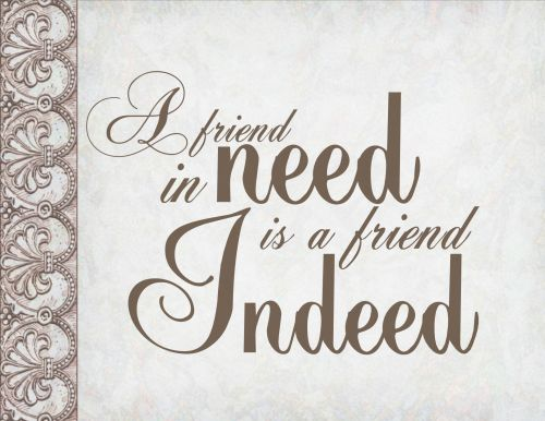 Quote Friends Calligraphy Message