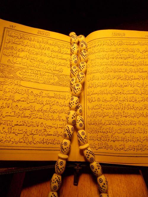 quran rosary pray