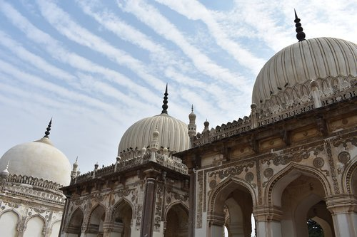 qutb shahi tombs  hyderabad  india