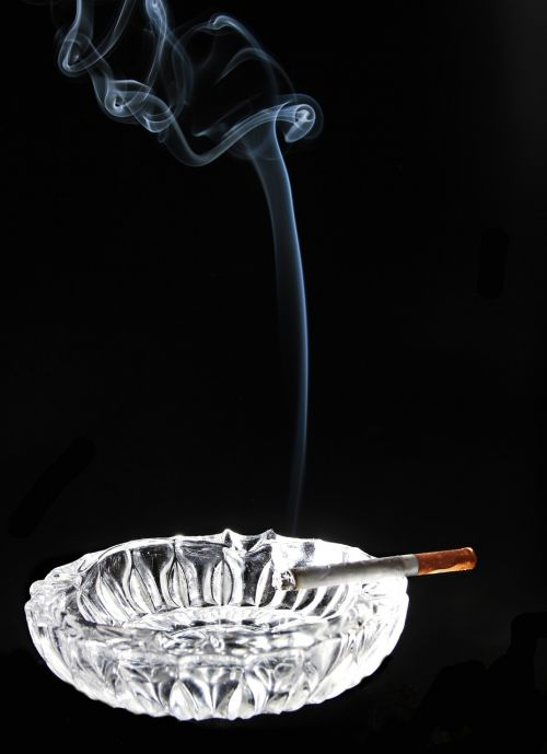 ashtray smoking smoke