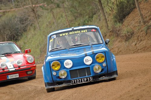 r8 gordini  historic vehicles  rally costa brava historic