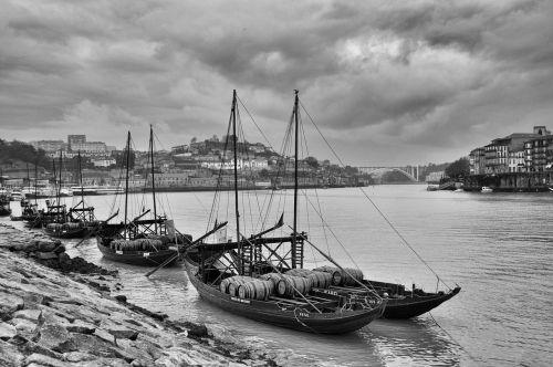 rabelo boat porto douro