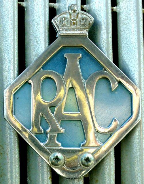 RAC Royal Automobile Club Badge