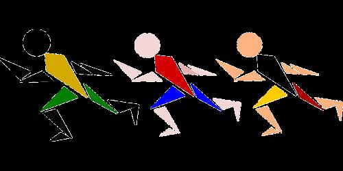 race men olympics