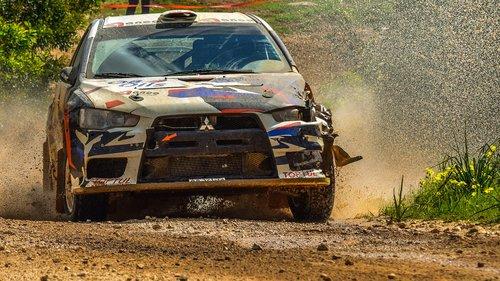 race  car  rally