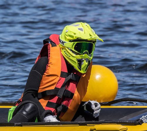 race car driver  water sports  motor boat race